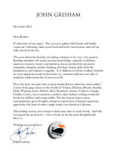 Grisham 2015 Holiday letter v2