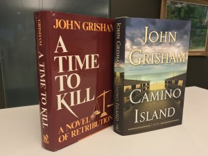 "Enter to win a rare autographed edition of ""A Time to Kill"""