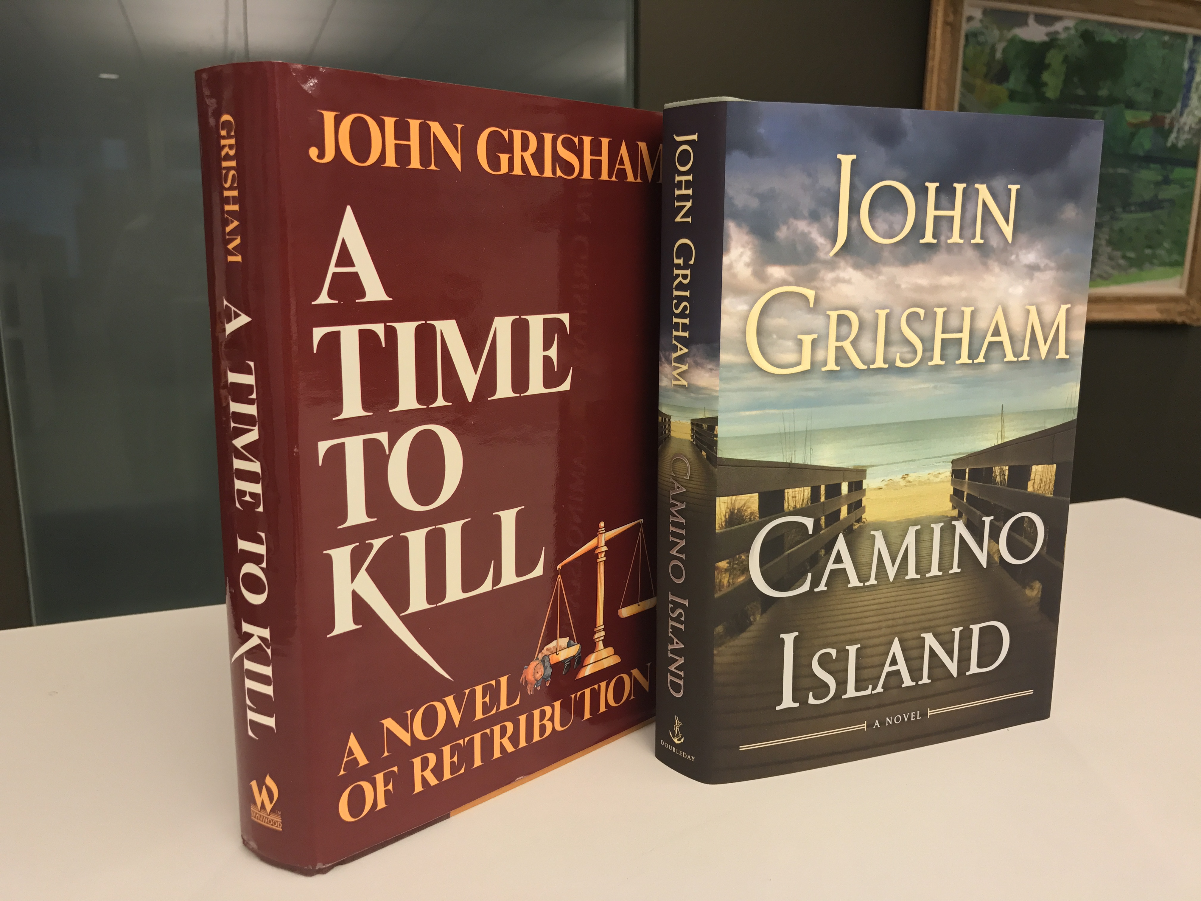 """Enter To Win A Rare Autographed Edition Of €�a Time To Kill"""""""